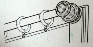 Tr ger vitragestange gardinenstange halter gardinen neu - Gardinen wandhalter ...